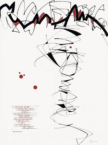 the berlin calligraphy collection  dieter benno aumann